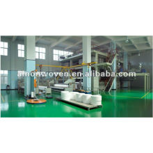 Nonwoven fabric bonding machine