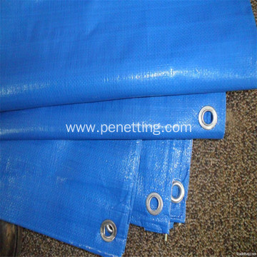 Semi-finished PE tarpaulin without eyelets