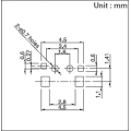 Miniature Bidirectional Action Switch