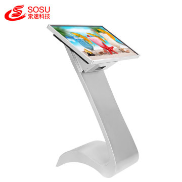 32 inch floor standing advertising Kiosk touch screen