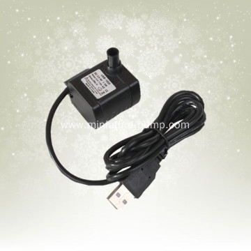 USB power cord 3 w micro brushless dc submersible pump