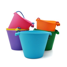 Foldable Pail Bucket Silicone Collapsible Bucket