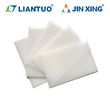 100% Virgin Material Natural PP Backing Sheet