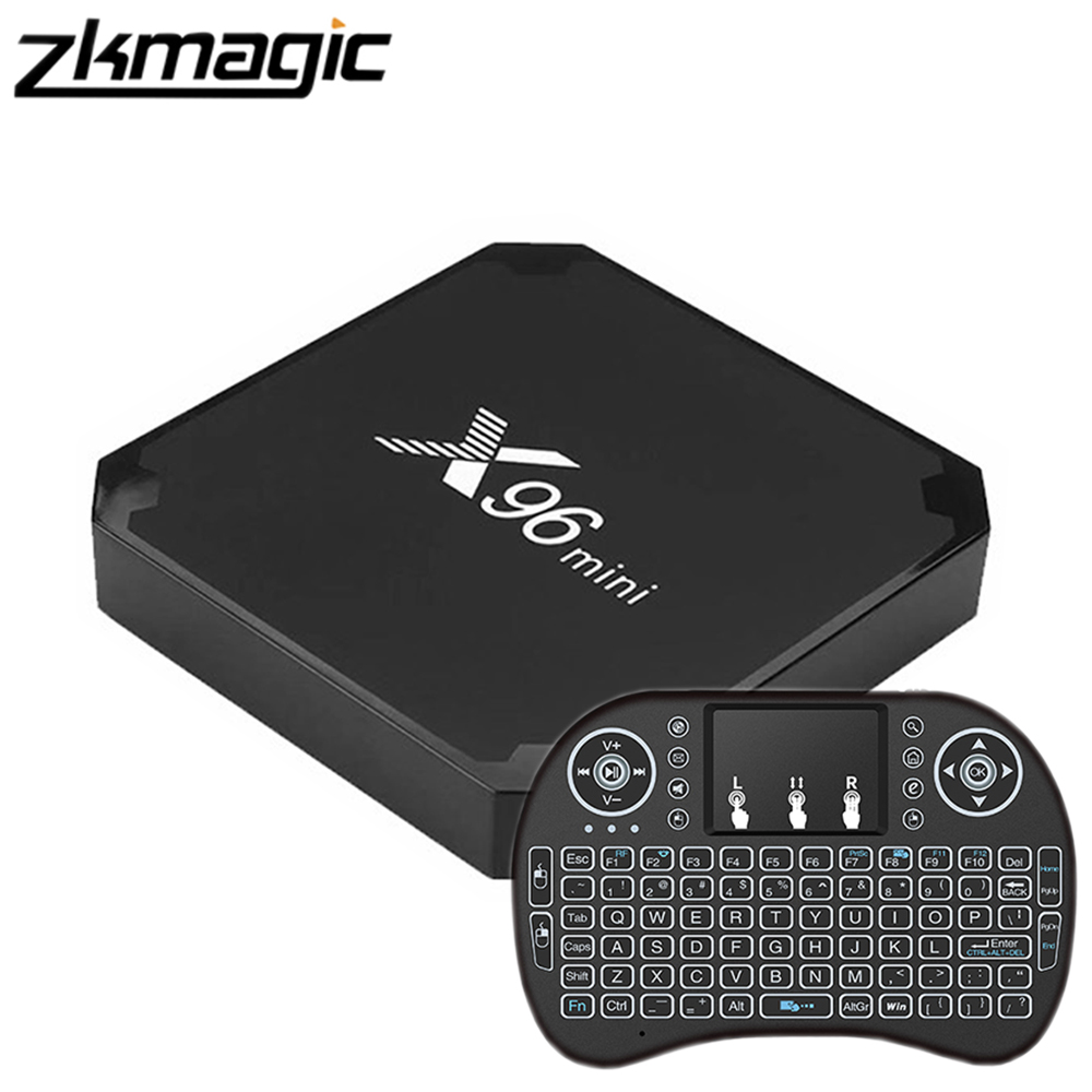 X96 MINI New Android 9.0 TV BOX 1G/8G 2G/16G Amlogic S905W Quad Core Support 4K Wifi Media Player Android Smart Set Top Box