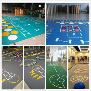 Ganas Multi-function Gym Center PVC Function Floor