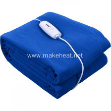 Blue Electric Blanket Polar Fleece