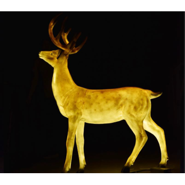 Male Sika Deer C Lights