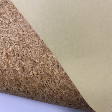 Custom Color Cork Biodegradable Leather for Wall