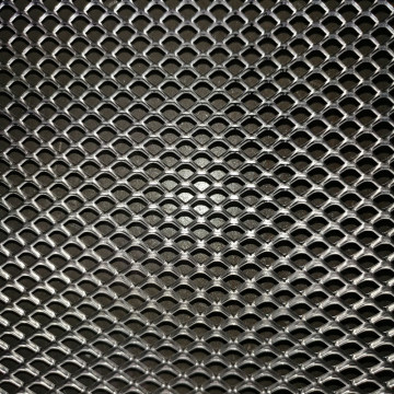 Decortative Aluminum Expanded Metal Wire Mesh