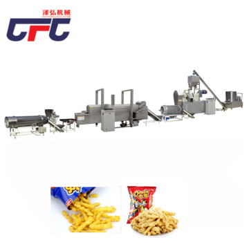 Extrusion Corn Snacks production line