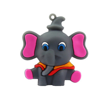 Custom Elephant USB Flash Drive