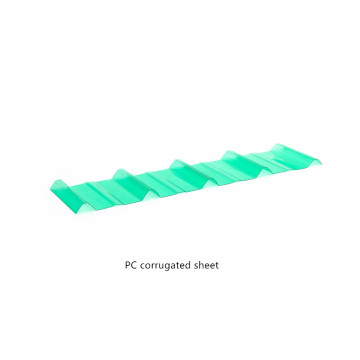 Polycarbonate Corrugated Sheet for Roof Daylighting