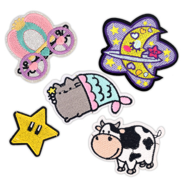 Clothing Embroidery Badges Applique Stickers Clothes Patch