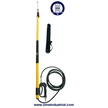 24 ft Pressure Washer Telescoping Wand & Nylon Belt Strap