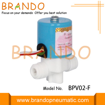 Quick fitting Reverse Osmosis System Plastic Solenoid Valve