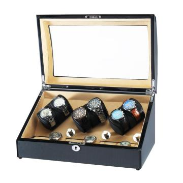 Watch Winder With Luxury Velvet Interior