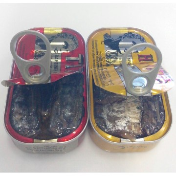 Canned Spiced Sardine in Vegetable Or Olive Oil