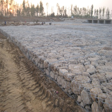 Gabion Rock Netting Wire for Strengthening Structure