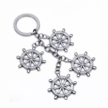 Promotional China Style Key Chain Custom Metal Key Holder