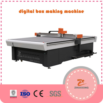 Oscillating Knife Cutting Machine For Carton Box