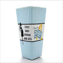 PE coated popcorn paper cup boxes mini size