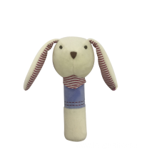 Plush Rabbit Squeaker Creamy