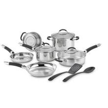 Stainless Steel Cookware Set 11PCS Kitchenware