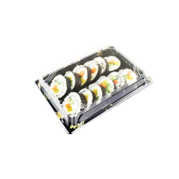 Food Storage Packaging Box Sushi Rolls Blister Tray