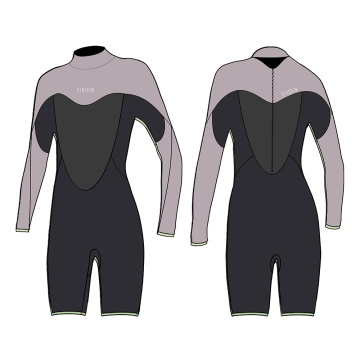 Seaskin Women long Arm Super Stretch Wetsuit
