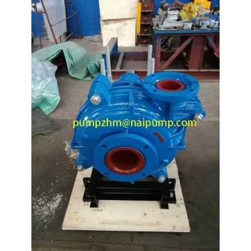 metal lined  bare shaft slurry pumps
