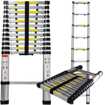 Aluminum Telescopic step ladder with 10steps