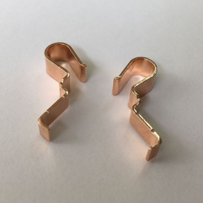 High Quality Copper Brass Electrical Metal Stamping Parts For Electronics 5