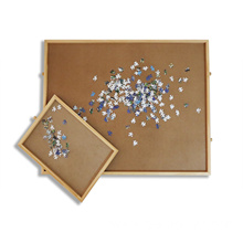 Pinewood Jigsaw Wooden Puzzle Table