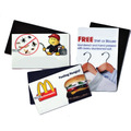 Outdoor Personalized Square Corner Business Card Magnets