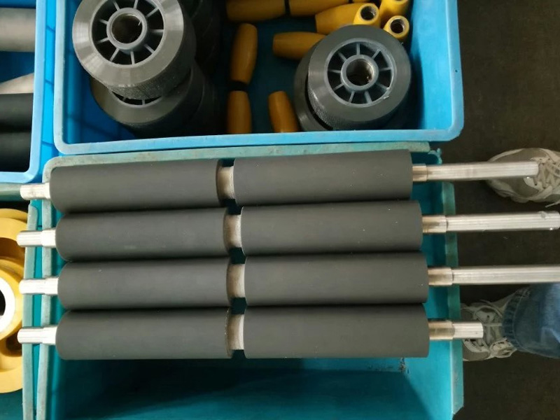 Custom Cast Urethane Pur Coated Rollers