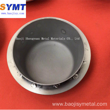 high temperature resistance spinning Molybdenum Crucible