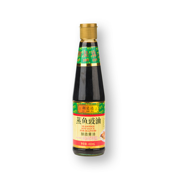 450ml Glass Bottle Steamed Fish Soy Sauce