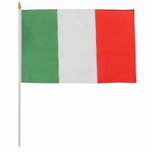 European cup all sizes Italy national hand flag