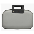Unisex storage pu travelling hard case with handle
