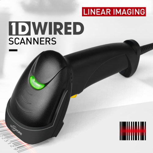 USB 1d wired Ccd Bar Code Reader scanner
