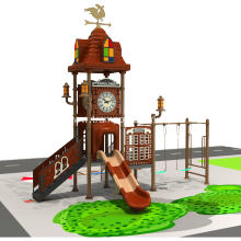 Playground Equipment With Swing