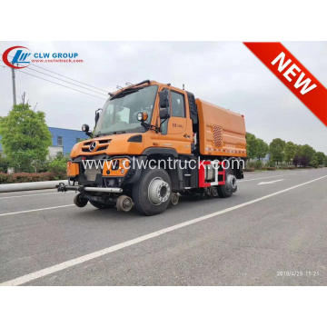 2019 New Benz U423 Multifunction Railway Sweep Truck