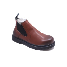 Low MOQ High Quality Winter Leather Boots Shoes