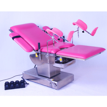 Electric Woman Exam Table with CE and ISO