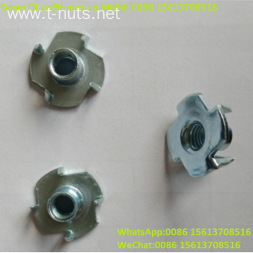 Zinc Plated Carbon Steel Furniture Steel T-Nuts