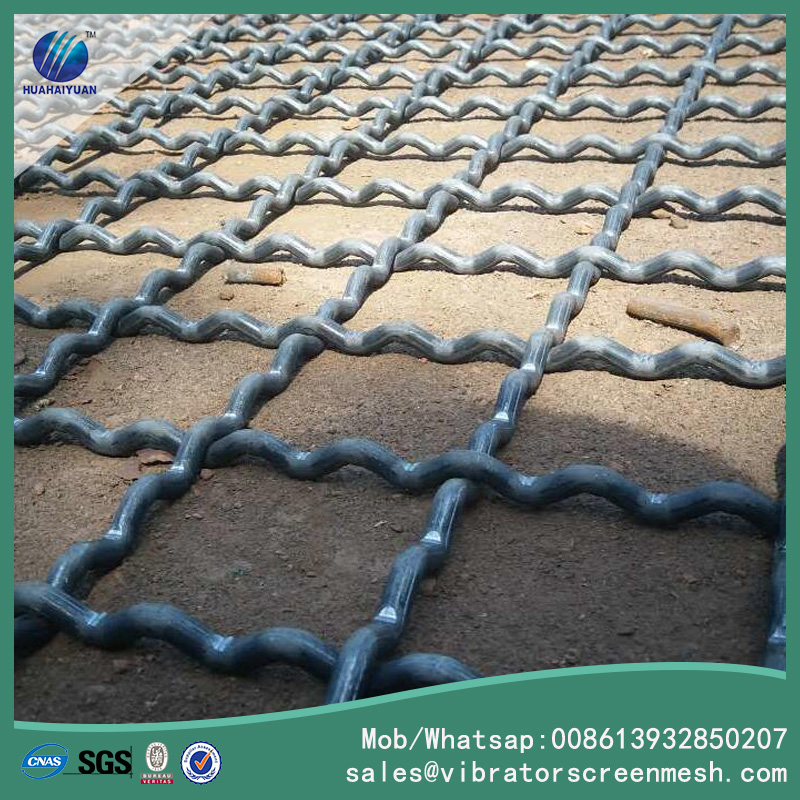 Lock Crimped Wire Screen Mesh