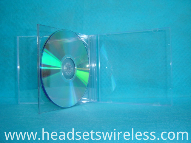 10mm double CD case with transparent tray8