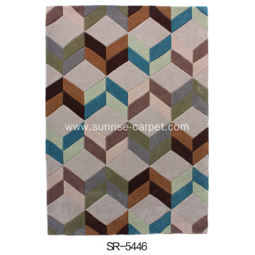 Acrylic & Polyester Hand-tufted Carpet