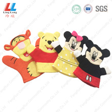 Disney set animal smooth bath gloves