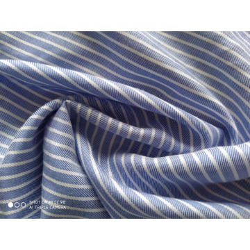 Yarn Dyed Stripe Lycell